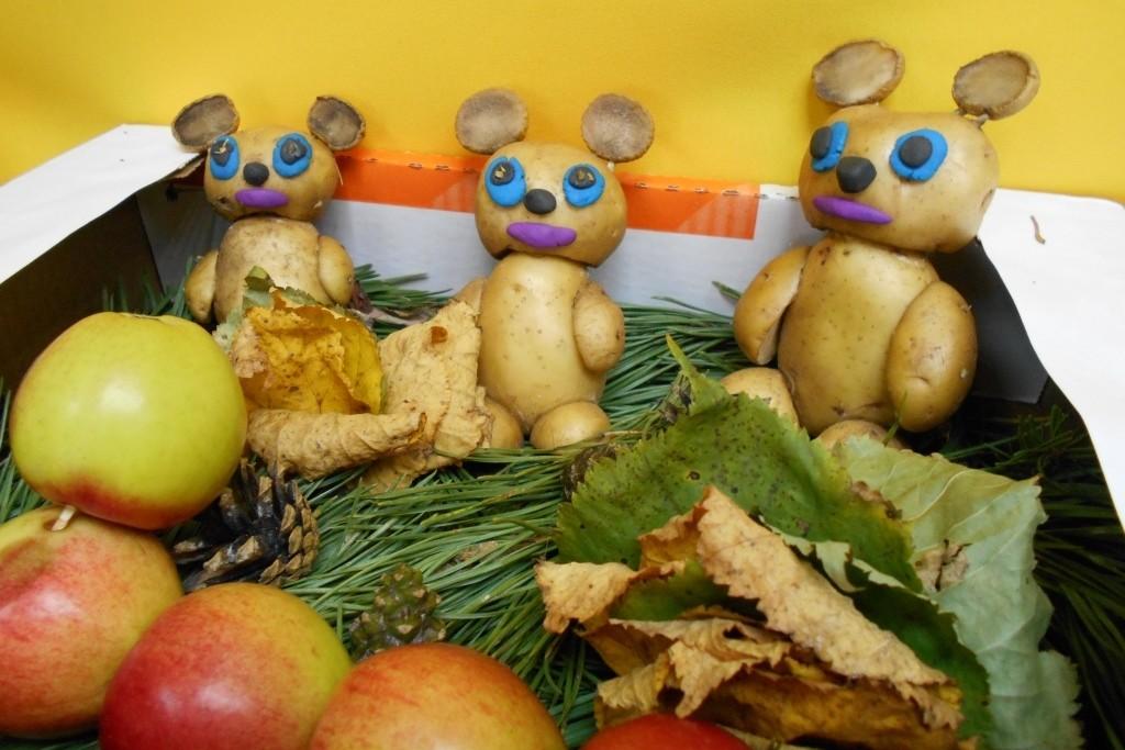 Поделки из овощей и фруктов на выставку осени самые красивые фото